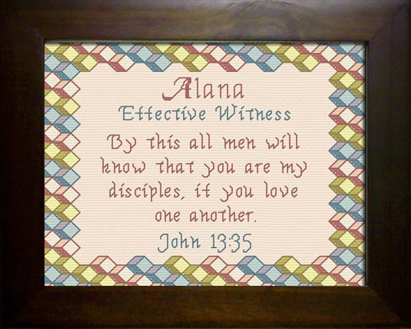 Name Blessings Alana Personalized Names With Meanings