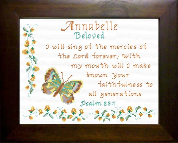 Name Blessings - Annabelle - Personalized Names with ...