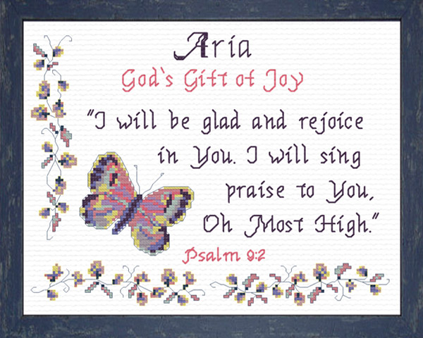 Aria Name Blessings Personalized Names with Meanings and ...