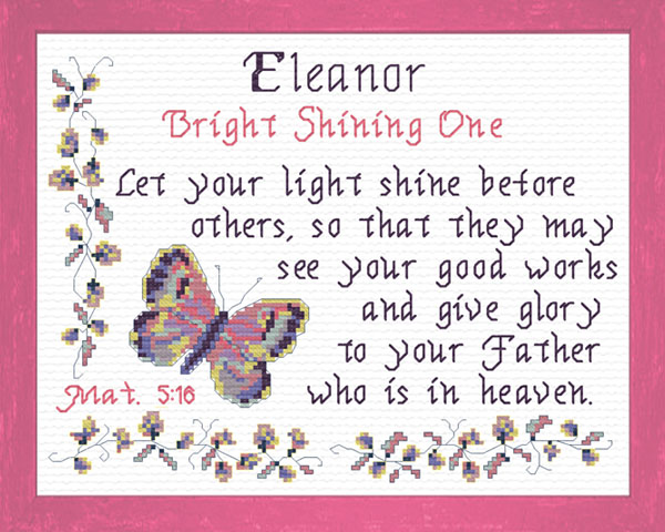 Eleanor Name Blessings Personalized Names With Meanings
