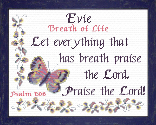 Evie Name Blessings Personalized Names with Meanings and ...