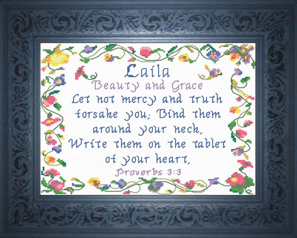 Name Blessings - Laila...