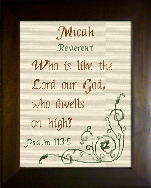 Name Blessings - Micah 2 - Personalized Names with ...