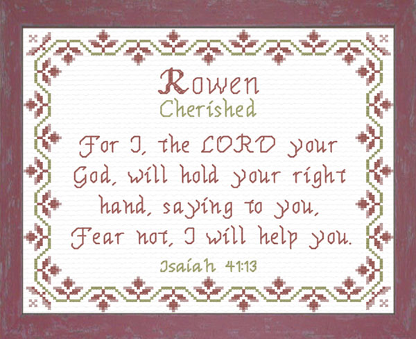 Name Blessings - Rowen - Personalized Names with Meanings ...